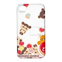 Chocopa Panda Apple Iphone 4/4s Hardshell Case With Stand