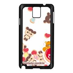 Chocopa Panda Samsung Galaxy Note 3 N9005 Case (black)