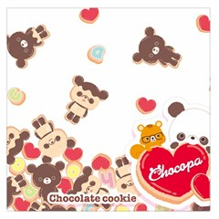 Chocopa Panda Large Satin Scarf (Square)
