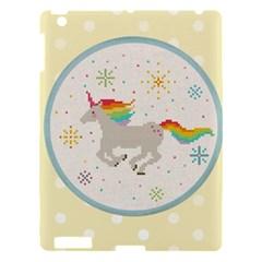 Unicorn Pattern Apple Ipad 3/4 Hardshell Case