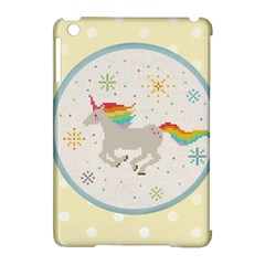 Unicorn Pattern Apple Ipad Mini Hardshell Case (compatible With Smart Cover)