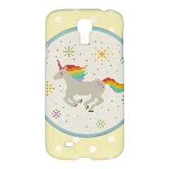 Unicorn Pattern Samsung Galaxy S4 I9500/i9505 Hardshell Case