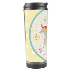 Unicorn Pattern Travel Tumbler