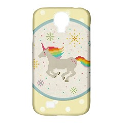 Unicorn Pattern Samsung Galaxy S4 Classic Hardshell Case (pc+silicone)