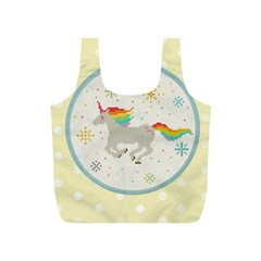 Unicorn Pattern Full Print Recycle Bags (s)