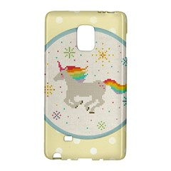 Unicorn Pattern Galaxy Note Edge