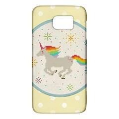 Unicorn Pattern Galaxy S6