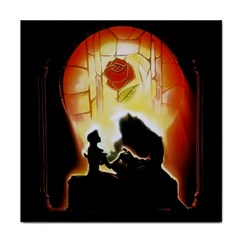 Beauty And The Beast Tile Coasters