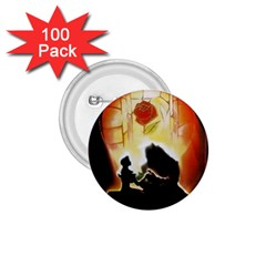 Beauty And The Beast 1 75  Buttons (100 Pack)