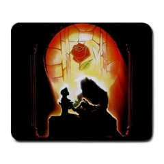 Beauty And The Beast Large Mousepads