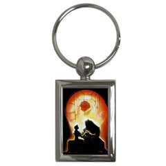 Beauty And The Beast Key Chains (rectangle)