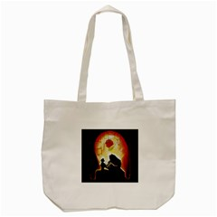 Beauty And The Beast Tote Bag (Cream)