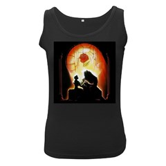 Beauty And The Beast Women s Black Tank Top