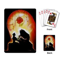 Beauty And The Beast Playing Card