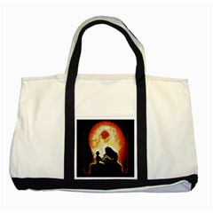 Beauty And The Beast Two Tone Tote Bag
