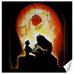 Beauty And The Beast Canvas 16  x 16