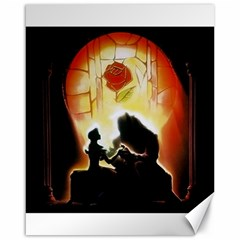 Beauty And The Beast Canvas 16  X 20