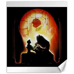 Beauty And The Beast Canvas 20  X 24