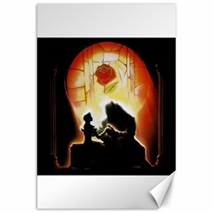 Beauty And The Beast Canvas 20  x 30