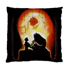 Beauty And The Beast Standard Cushion Case (Two Sides)