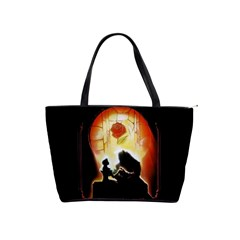 Beauty And The Beast Shoulder Handbags