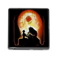 Beauty And The Beast Memory Card Reader (square)