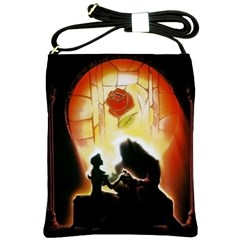 Beauty And The Beast Shoulder Sling Bags