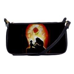 Beauty And The Beast Shoulder Clutch Bags