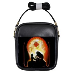 Beauty And The Beast Girls Sling Bags