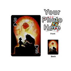 Beauty And The Beast Playing Cards 54 (Mini)