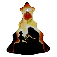 Beauty And The Beast Ornament (Christmas Tree)