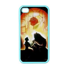 Beauty And The Beast Apple iPhone 4 Case (Color)