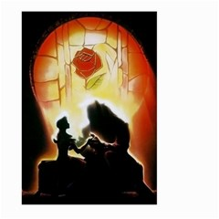 Beauty And The Beast Large Garden Flag (Two Sides)