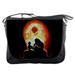 Beauty And The Beast Messenger Bags
