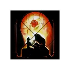 Beauty And The Beast Acrylic Tangram Puzzle (4  X 4 )