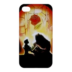 Beauty And The Beast Apple Iphone 4/4s Premium Hardshell Case