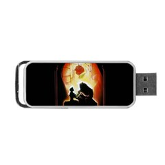 Beauty And The Beast Portable Usb Flash (two Sides)