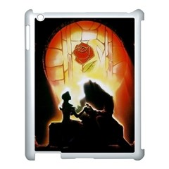 Beauty And The Beast Apple Ipad 3/4 Case (white)