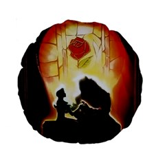 Beauty And The Beast Standard 15  Premium Round Cushions