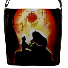 Beauty And The Beast Flap Messenger Bag (s)