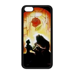 Beauty And The Beast Apple Iphone 5c Seamless Case (black)