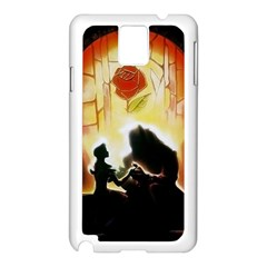 Beauty And The Beast Samsung Galaxy Note 3 N9005 Case (white)