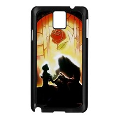 Beauty And The Beast Samsung Galaxy Note 3 N9005 Case (black)