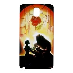 Beauty And The Beast Samsung Galaxy Note 3 N9005 Hardshell Back Case