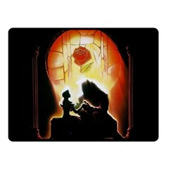 Beauty And The Beast Double Sided Fleece Blanket (Small)