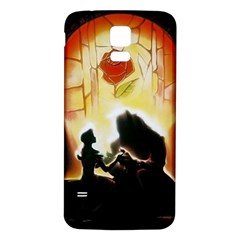 Beauty And The Beast Samsung Galaxy S5 Back Case (white)