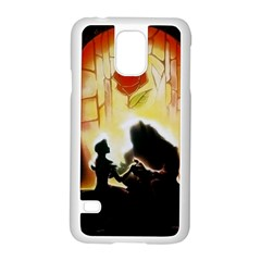 Beauty And The Beast Samsung Galaxy S5 Case (white)