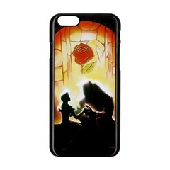 Beauty And The Beast Apple Iphone 6/6s Black Enamel Case