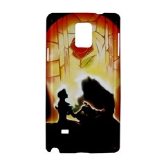 Beauty And The Beast Samsung Galaxy Note 4 Hardshell Case