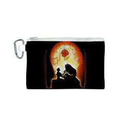 Beauty And The Beast Canvas Cosmetic Bag (S)